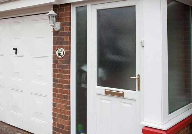 upvc door cleaning
